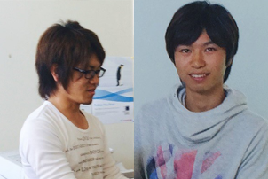 Kenya Uehara and Takenori Nakamura